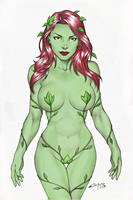 POISON IVY !!! by carlosbragaART80 Colored B by WeaponTheory
