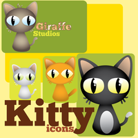 Kitty Icons by BreezyInk