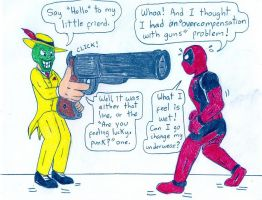 Deadpool and The Mask by Jose-Ramiro
