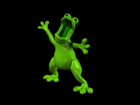 3D frog creation by ardt1