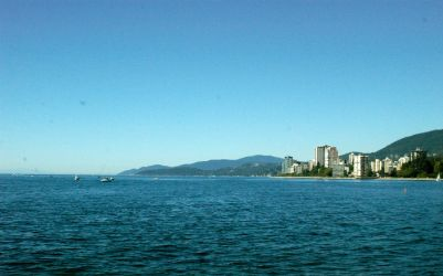 Land Meets Ocean - Vancouver by BeforeWeWakeTheSky
