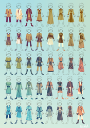 some clothing by Lizalot