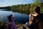 Twilight chilling in Nuuksio National Park by Cabraloca