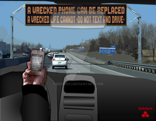 StateFarm / DO NOT TEXT AND DRIVE by redwes1