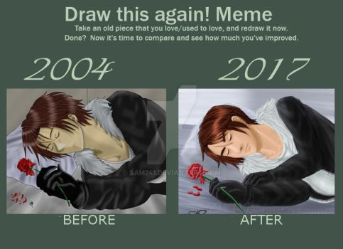 Draw This Again- Squall by sam241