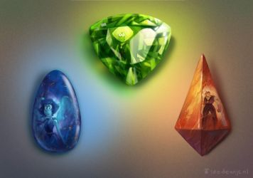 Start of a Gem collection by Bakenius