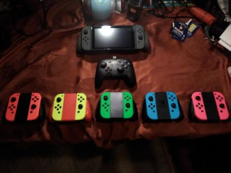 My Switch N my Joy Con Color Set Collection by DanielMania123