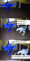 Dinobots tell a joke! by imyouknowwho
