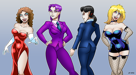 High Class Ladies by curtsibling