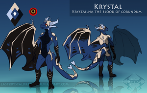 Krystal Reference 2016 by LastKrystalDragon