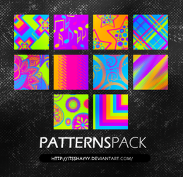Neon Patterns Pack by itsshayyy