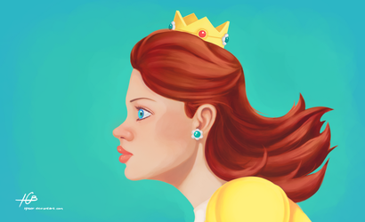 Princess Daisy by Hnser