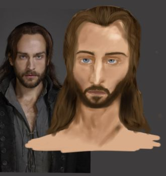 Tom Mison drawing by Rimfrost2