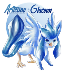 Articuno x Glaceon by Seoxys6