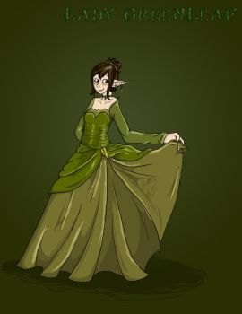 Lady Greenleaf by Kali-Balekrone