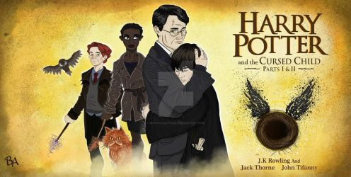 Harry Potter and the cursed child by BrunoArauto09