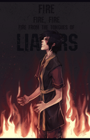 Fire From The Tongues Of Liars by PUNX-Simon
