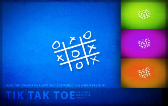 TiK TaK Toe by Frnak
