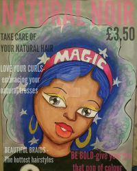 Natural Noir- the magic issue by Mekeisha