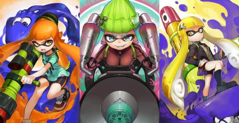 Splatoon by Ishutani