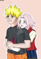 Stay With Me, Naruto -colored by AbBYRaGEOUS
