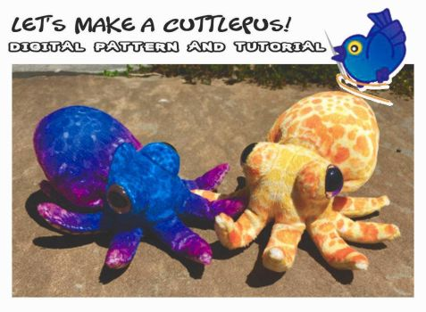Let's Make A Cuttlepus Pattern And Tutorial by plushabilities