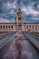 Kronentor (Crown Gate) of Dresden Zwinger by Stefan-Becker