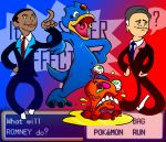 Presidential Pokemon Battle by Cameron-Ohara