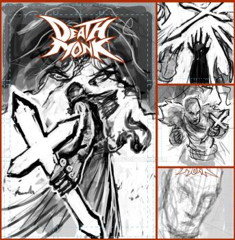 Death Monk cover thumbnails by mcaraballo