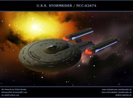 STAR TREK - ICICLE: USS STORMRIDER by ulimann644