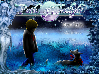 Paths of Twilight (Title Menu) by LunarBerry