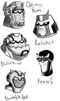 Transformers Animated by Miss-Alex-Aphey