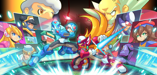 X.exe vs. Zero.exe by ultimatemaverickx by V-a-a-N