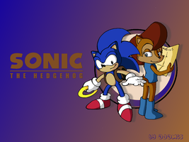 SatAM: Sonic and Sally wall by ThePandamis