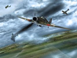 Battle of Britain by caastel