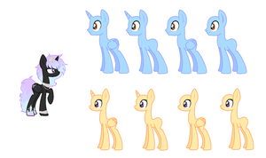 Nameless princess pony breedable by StarDust-Adoptables