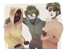 |Creepypasta / Slenderverse| Not quite a Family by 0ktavian