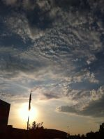 iPhone 4: Clouds 1 by Saber-Cow