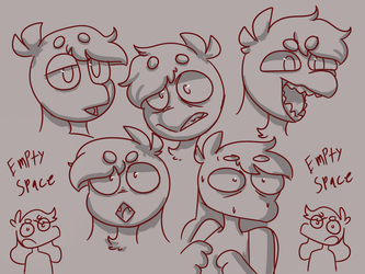 expressions by BattleAxeBunny