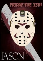 Friday The 13th - Jason Poster / Sexta-Feira 13 by pribellafronte