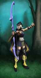 Ashe WIP 3/28/2013 by ezdeezy