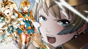 Fire Emblem Heroes - Fjorm Wallpaper by AuroraMaster