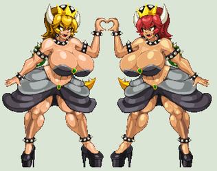 PLACE HOLDER BOWSETTE by CaseterMK
