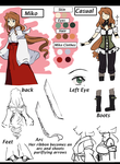 Hiromi  Character Reference +Oc+ by aidmoon