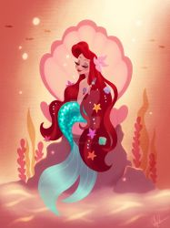 Glam Ariel by DylanBonner