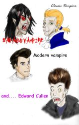 Vampire comparison by R-Daza