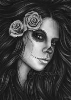 Day of the dead - Elegant Beauty by Zindy