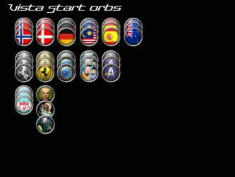 Vista Start Orbs - More Flags by kereight007