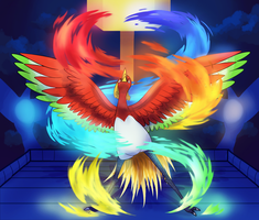 Ho-Oh by Miss-Callie-Rose