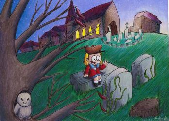 Graveyard Chat by Lady-KL